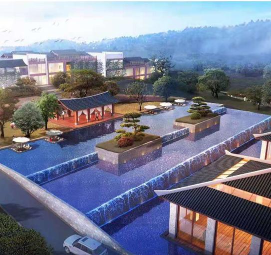 盘州市月亮湾酒店景观水处理工程
