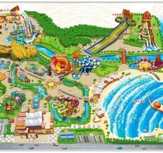 水上乐园规划图